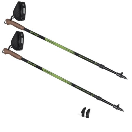 Kije Nordic Walking RUBBLE, rozmiar 105-135cm, 922208 Spokey